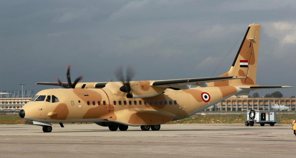 القوات الجوية المصريه توقع عقد ضخم لدعم اسطولها من طائرات C-295 مع شركة Airbus C295-e10