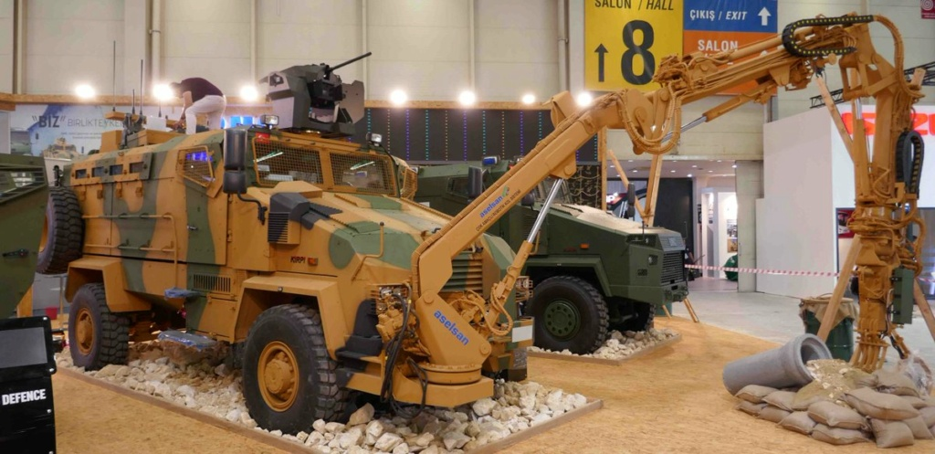 مركبة BMC Kirpi المقاومة للألغام والمحمية من الكمائن MRAP C_udgo10