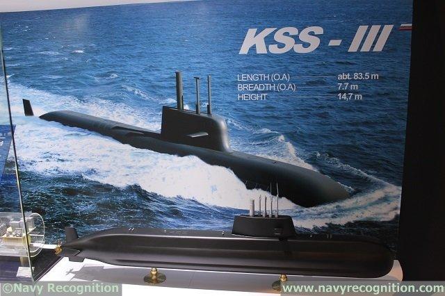 الغواصة الهجومية KSS-III الكورية الجنوبية Cjucqs10