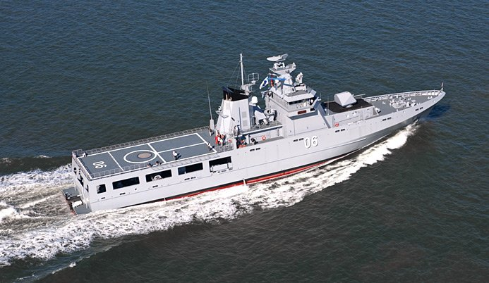 سفن الدوريات البحرية فئة Arafura Class D5g84x10