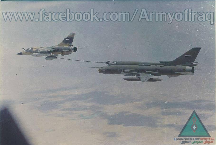 التزود بالوقود جوا بين طائرات ذات تكنلوجيات مختلفه المنشأ / سلاح الجو المصري انموذجا  D5s2h110