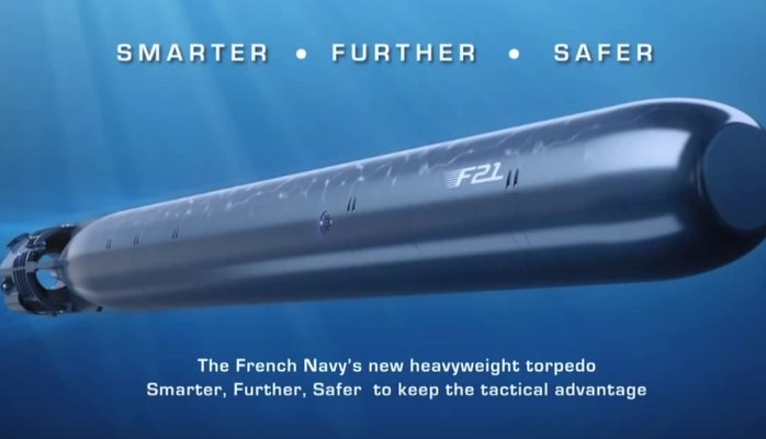 الطوربيد الفرنسي الثقيل F21 Ddktzv10