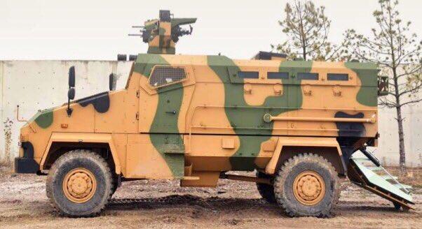 مركبة BMC Kirpi المقاومة للألغام والمحمية من الكمائن MRAP Dm7bl_10