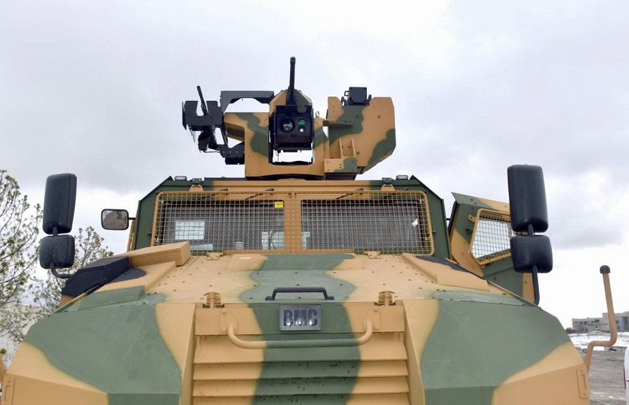 مركبة BMC Kirpi المقاومة للألغام والمحمية من الكمائن MRAP Dm7bmv10