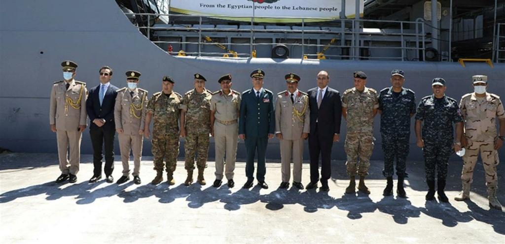 الجيش اللبناني يتسلم هبة مقدمة من القوات المسلحة المصرية Doc-p-13