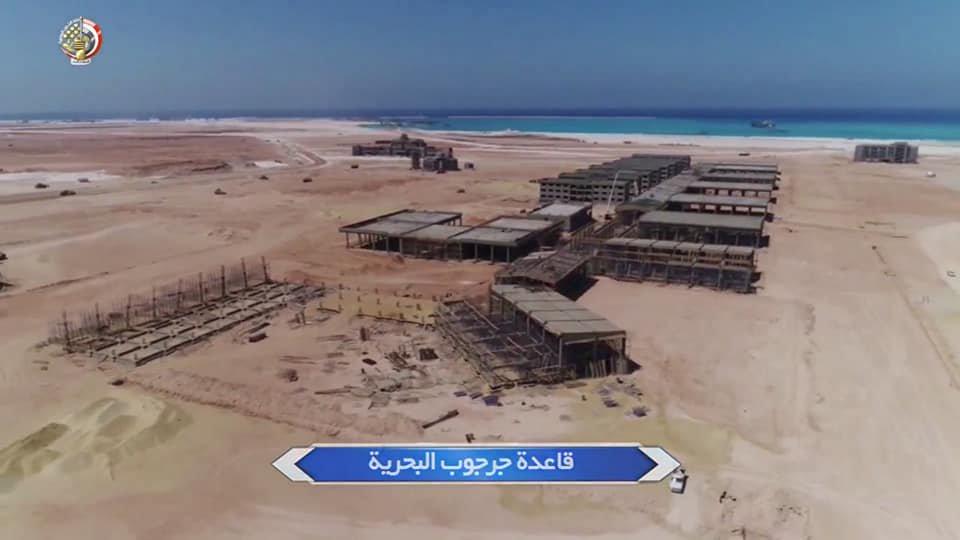 البحرية المصرية تواصل بناء ثلاث قواعد عسكرية جديدة Dqd99h11