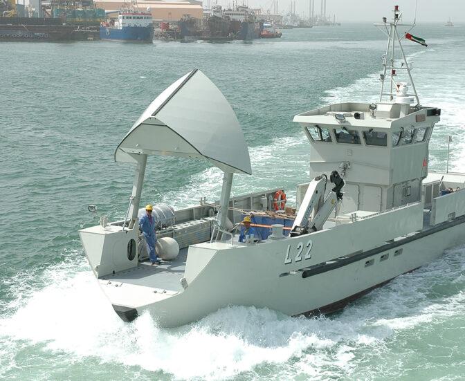 سفينة الامداد البحري السريع (طول 26 متر) من انتاج شركة أبوظبي لبناء السفن (ADSB) Dsc_0110