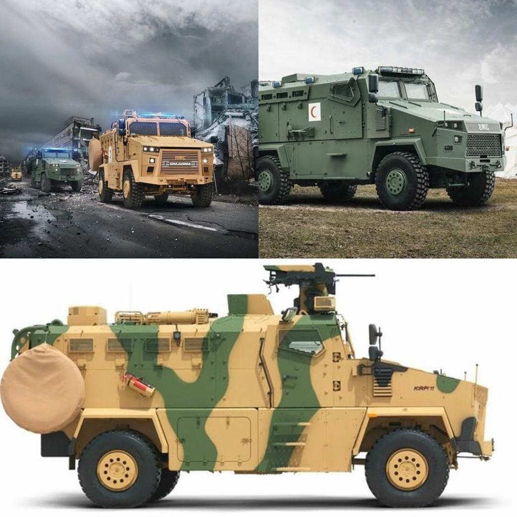 مركبة BMC Kirpi المقاومة للألغام والمحمية من الكمائن MRAP Dyq68m10