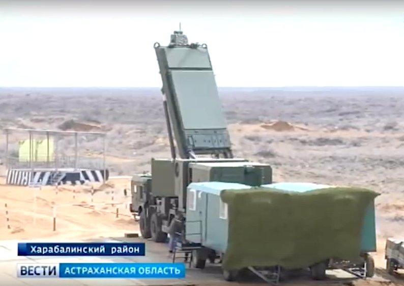 صاروخ جديد تم اختباره لنظام الدفاع الجوي الروسي S-500 Dzncsm10