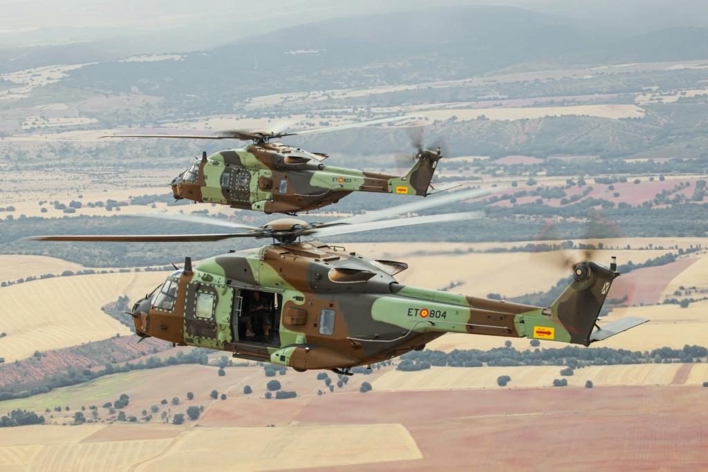 مروحيات NH90 الإسبانية جاهزة للنشر في مالي E0e_di10