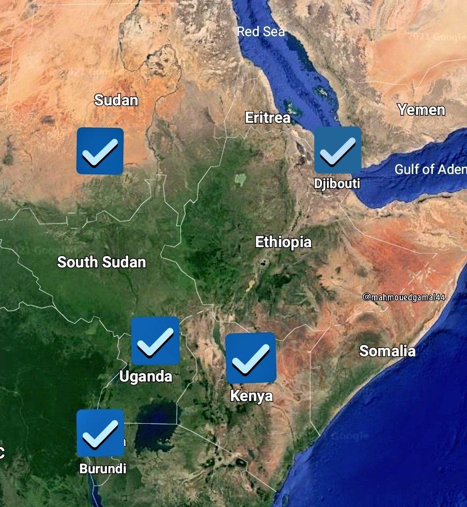 كينيا تعلن توقيع اتفاقية للتعاون الدفاعي مع مصر... صور E2xzwo10