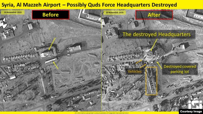 """إسرائيل تستهدف """"عشرات المواقع التابعة للحكومة السورية وإيران"""" داخل سوريا E6f9f610"""