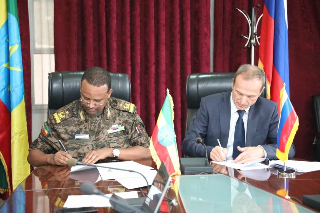 """إثيوبيا تعلن توقيع """"العديد من الاتفاقيات"""" مع روسيا لتحديث قدرات جيشها E6gqm810"""