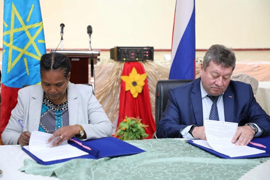 """إثيوبيا تعلن توقيع """"العديد من الاتفاقيات"""" مع روسيا لتحديث قدرات جيشها E6gqp310"""