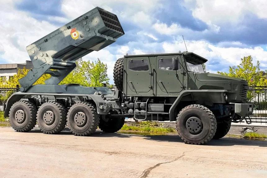 تستعد روسيا للكشف عن نظام صواريخ TOS-2خلال موكب يوم النصر Earex610