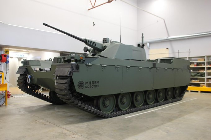 المركبة القتالية غير المأهولة من طراز Type-X Eazw0t10