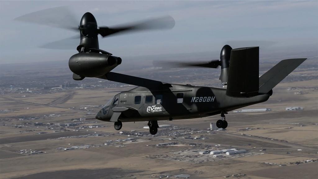 الجيش الأميركي يختار طائرة Bell V-280 Valor لبرهان التكنولوجيا  - صفحة 2 Edb3wq10
