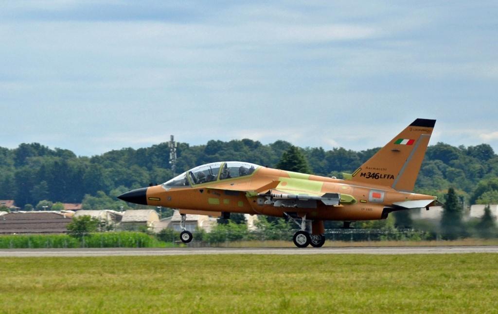 شركة Leonardo مستمره في تحقيق الهدف وتطوير طائره M-346FA الهجوميه المسلحه Edmfhq10
