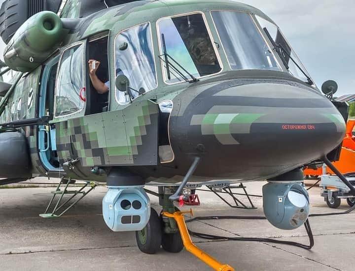 مروحية Mi-8AMTSh-VN الروسية الجديدة تبدأ تجارب الطيران  Ednmm610