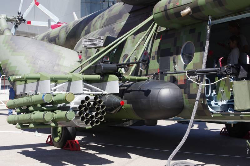 مروحية Mi-8AMTSh-VN الروسية الجديدة تبدأ تجارب الطيران  Edpmaz10