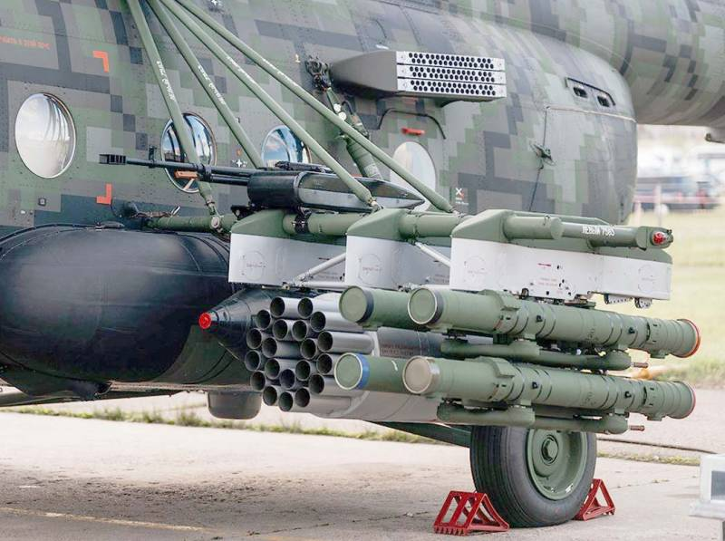 مروحية Mi-8AMTSh-VN الروسية الجديدة تبدأ تجارب الطيران  Edpmcz10