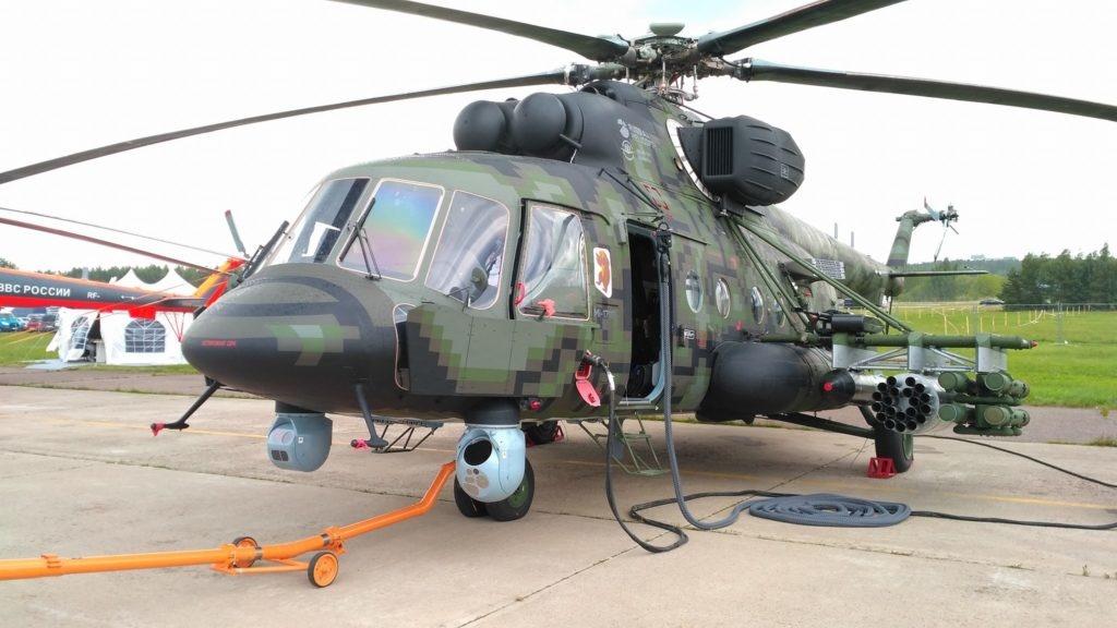 مروحية Mi-8AMTSh-VN الروسية الجديدة تبدأ تجارب الطيران  Edpmwk10