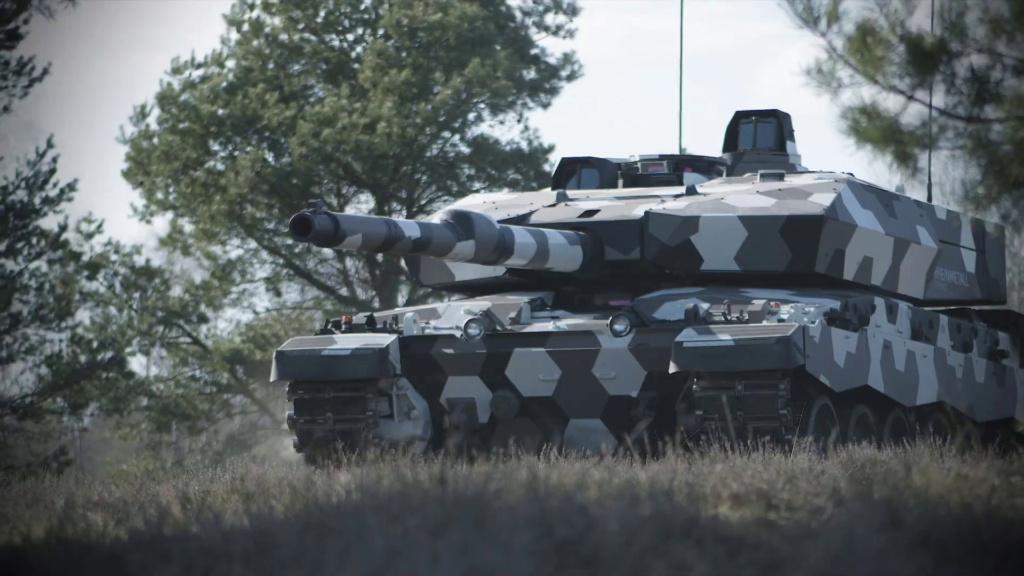 Rheinmetall تتقدم في مشروع تطوير مدفع  دبابة من الجيل القادم عيار 130 ملم Eepzdf11
