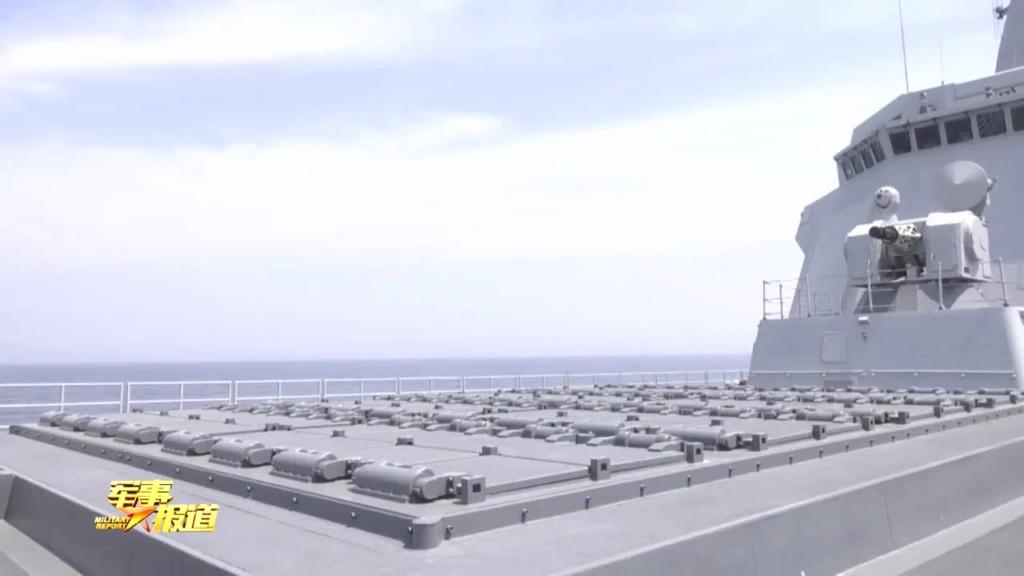 هل تستطيع المدمره الصينيه Type 055 الجديده ان تغرق سفن البحريه الامريكيه ؟!! Eeqloe10