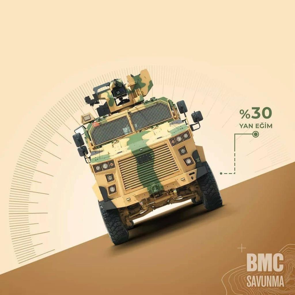 مركبة BMC Kirpi المقاومة للألغام والمحمية من الكمائن MRAP Efn7ee10