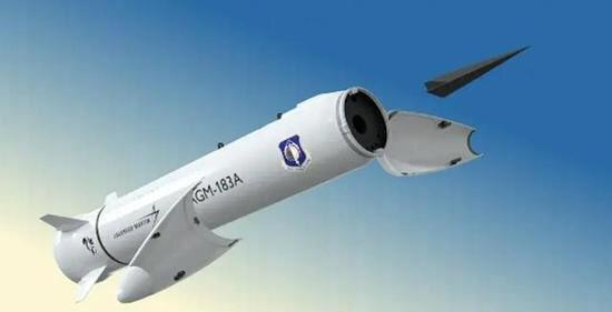 سلاح الاستجابة السريعة AGM-183A الذي يطلق من الجو (ARRW) Efv7b_11