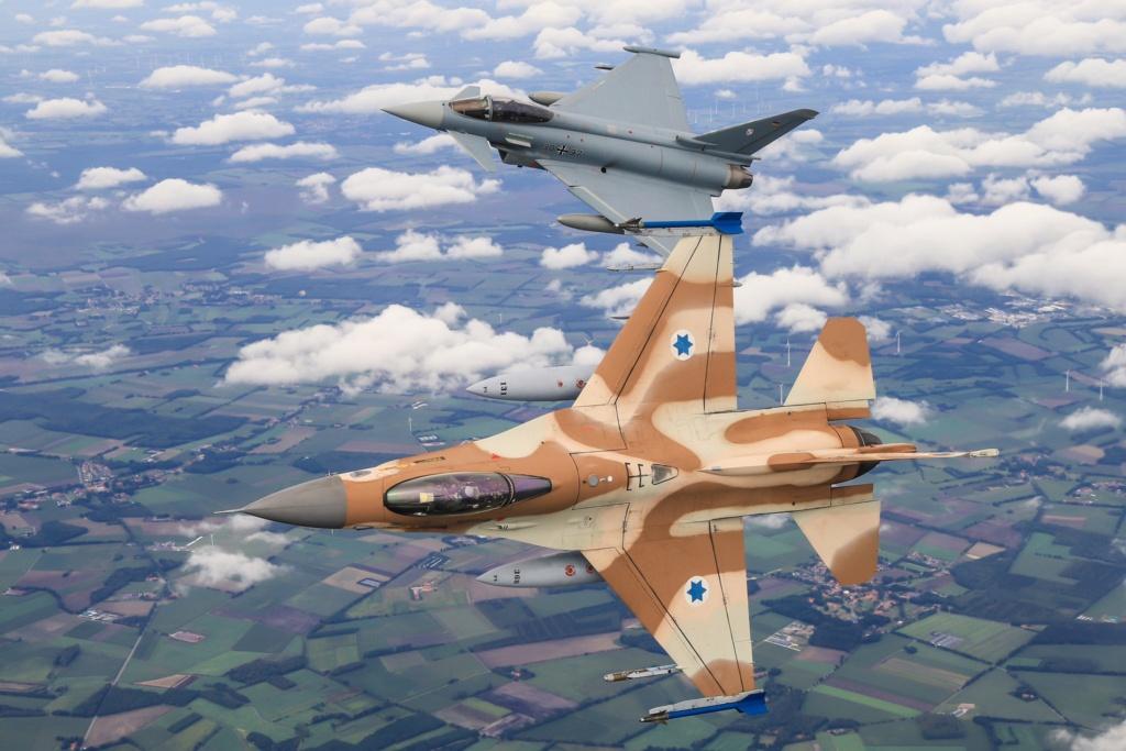 في سابقة تاريخية.. مناورات ألمانية إسرائيلية في سماء ألمانيا Egcagr11