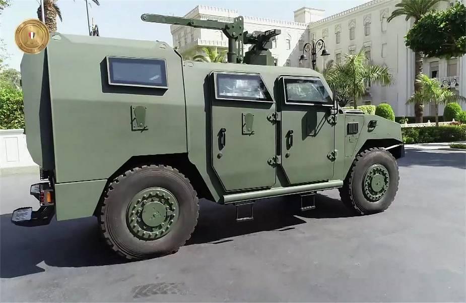 مصر نسخة محلية جديدة من مركبة Sherpa التكتيكية الخفيفة 4x4 الفرنسية Egypt_14