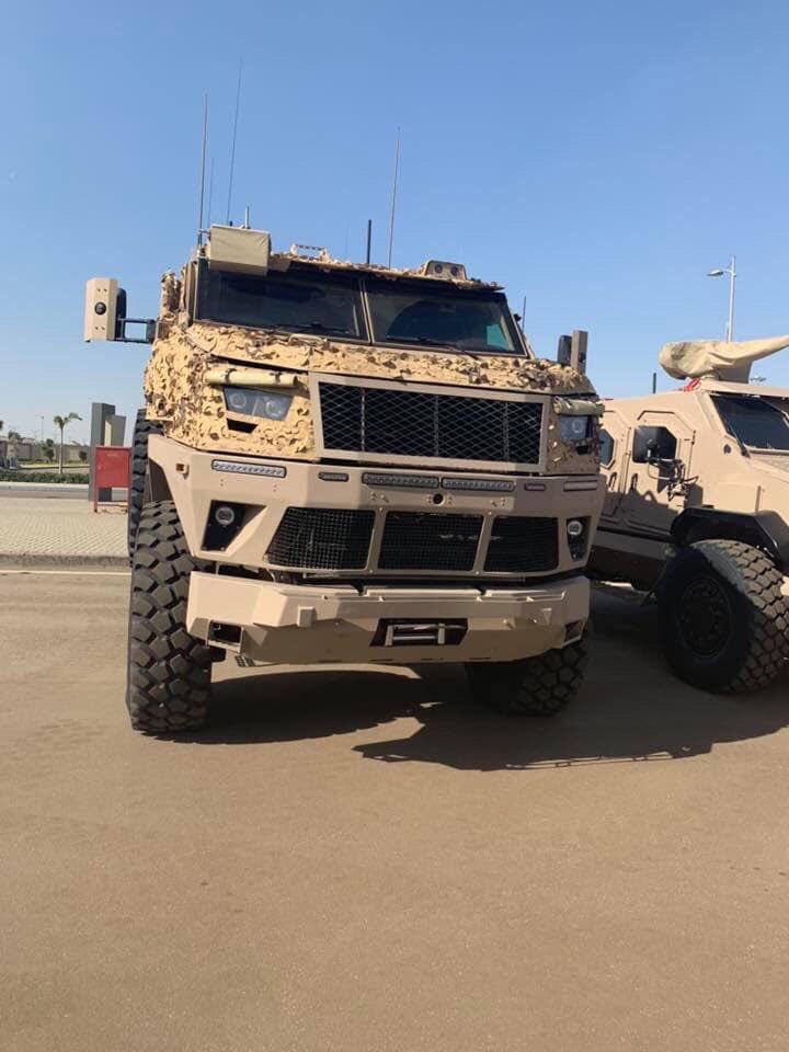 بعد طلب وزارة الدفاع السعودية : مصر تختبر المدرعة ST-100 بصحراء الرياض تمهيدًا لتصديرها Eh4wb510