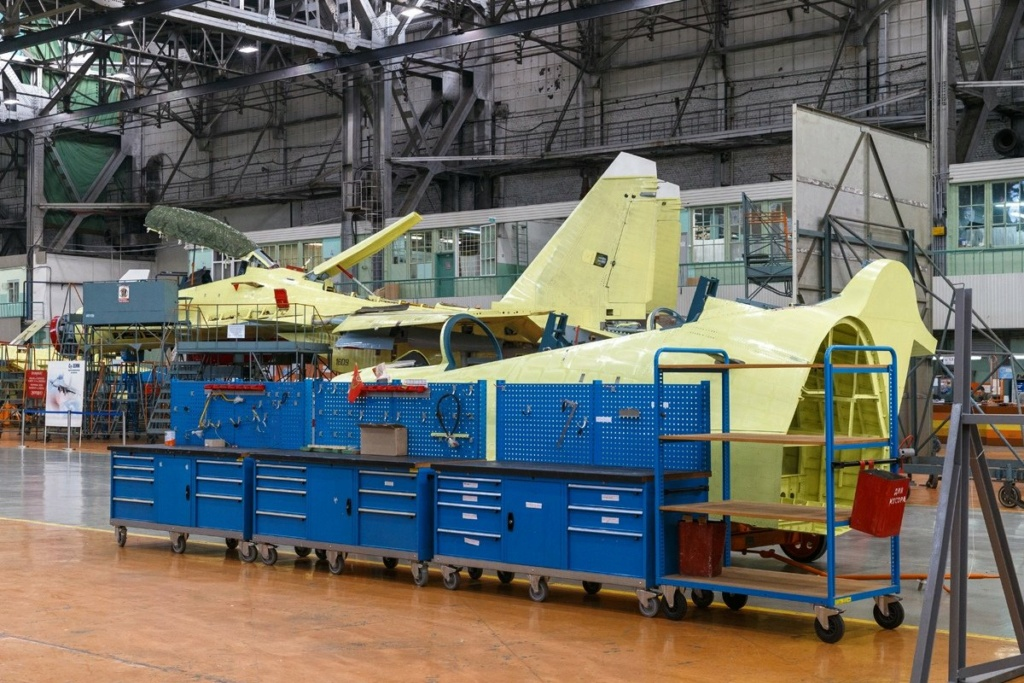 مشاكل في تثبيت المحرك تؤخر تطوير الطائرة الروسية Su-30SM2 Ehdwtg11