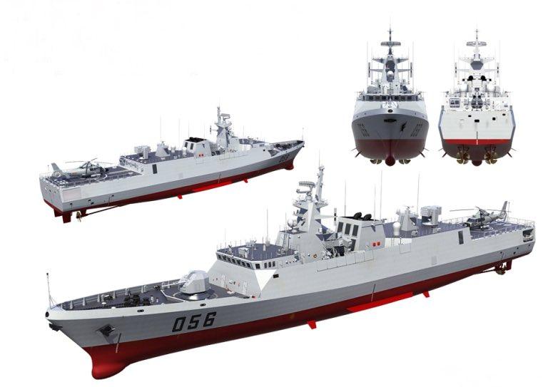 مصر قد تكون مهتمه بكورفيت Type-056 الصيني  Eht5zb10
