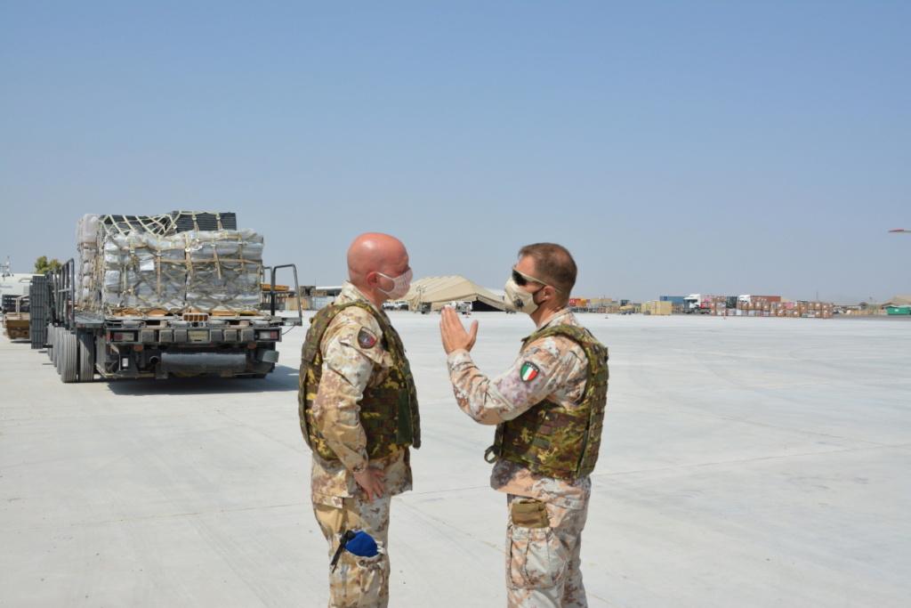 بوادر تعاون عسكري بين العراق وايطاليا  Eignyc11