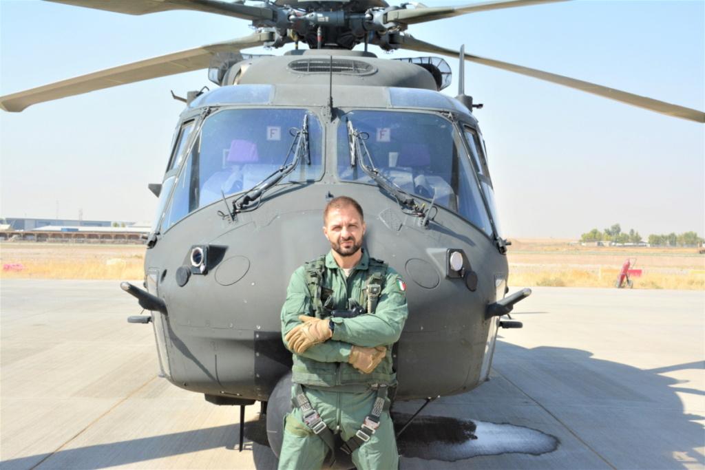 بوادر تعاون عسكري بين العراق وايطاليا  Eignyc12