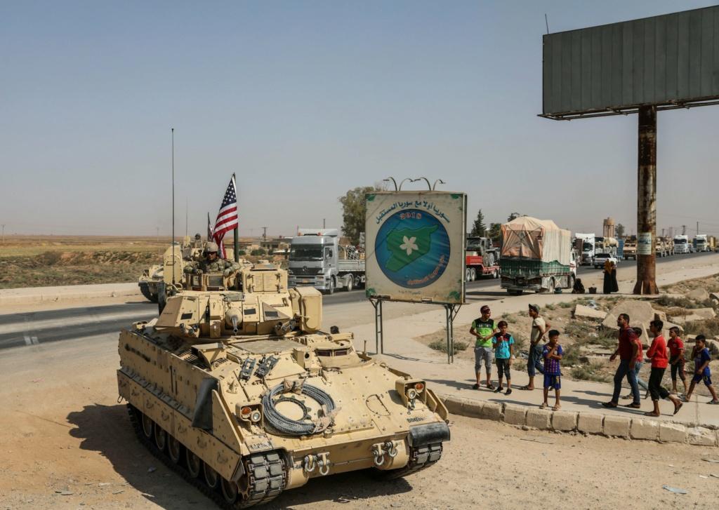 الحرب في سوريا: الولايات المتحدة ترسل تعزيزات عسكرية إلى شمال شرقي البلاد بعد اشتباكات مع روسيا Eih27d13