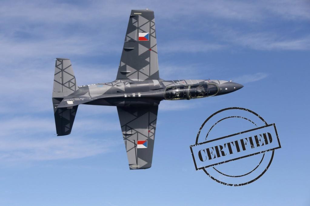 شركة Aero Vodochody تكشف عن أحدث طراز طائرة تدريب جديدة من نوع L-39NG Einltu10