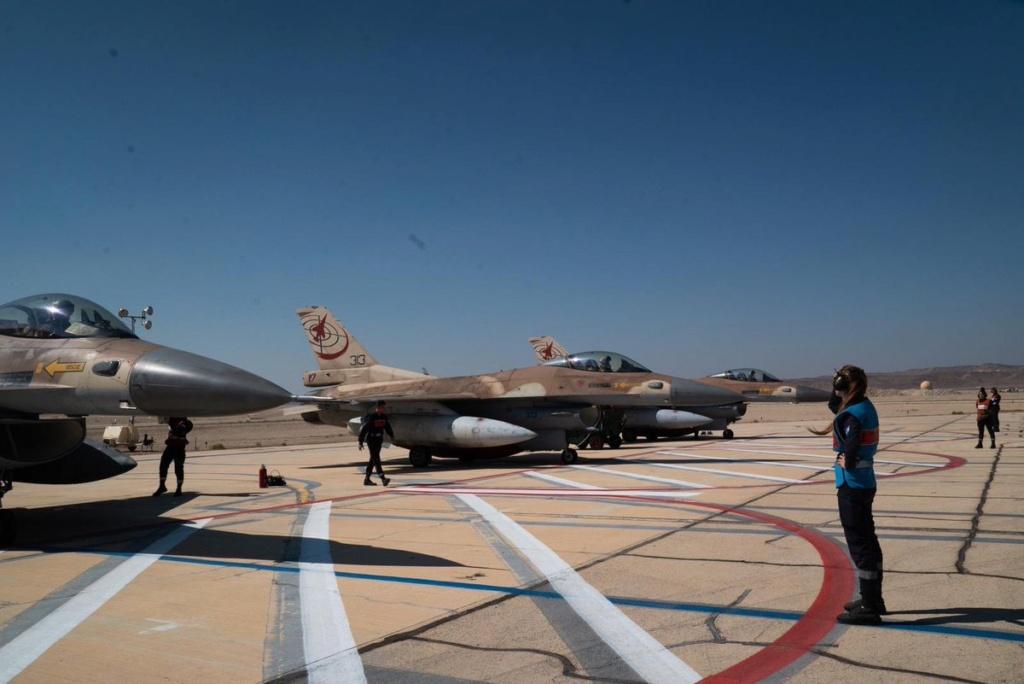 مقاتلات اسرائيلية نوع F-35 ستشارك في مناورات Blue Flag  الجوية المشتركة للمرة الأولى Eirej-10