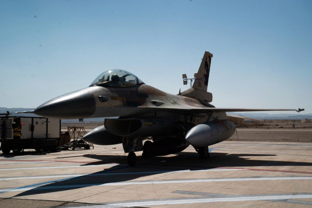 مقاتلات اسرائيلية نوع F-35 ستشارك في مناورات Blue Flag  الجوية المشتركة للمرة الأولى Eirej_10