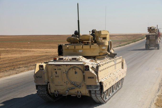 الحرب في سوريا: الولايات المتحدة ترسل تعزيزات عسكرية إلى شمال شرقي البلاد بعد اشتباكات مع روسيا Eiwnvl10
