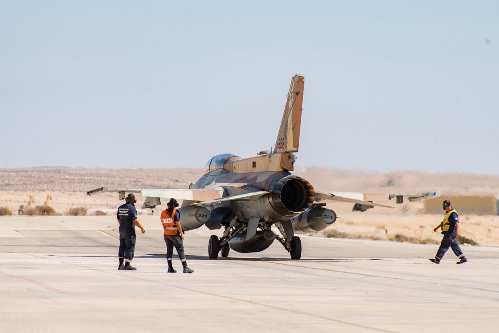 مقاتلات اسرائيلية نوع F-35 ستشارك في مناورات Blue Flag  الجوية المشتركة للمرة الأولى Eiwuom13