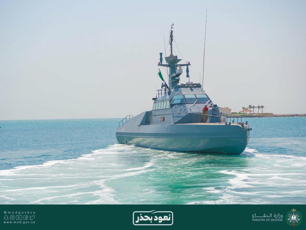 البحرية الملكية السعودية تدشن زوارق HSI32 الاعتراضيه السريعه الفرنسية الصنع Eiwvei10