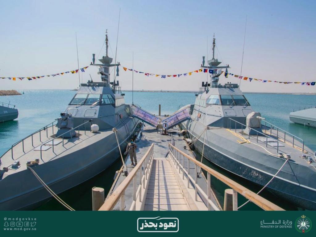 البحرية الملكية السعودية تدشن زوارق HSI32 الاعتراضيه السريعه الفرنسية الصنع Eiwvei11