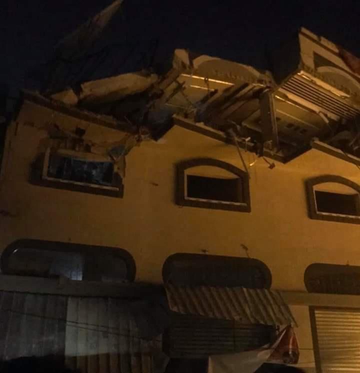 عاجل اسرائيل تشن هجمات على وسط قطاع غزة Ejjau510