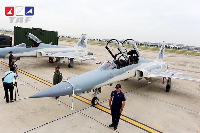 تايلاند تستلم اول نموذج من مقاتلات F-5F Super Tigris Ejvdwk11