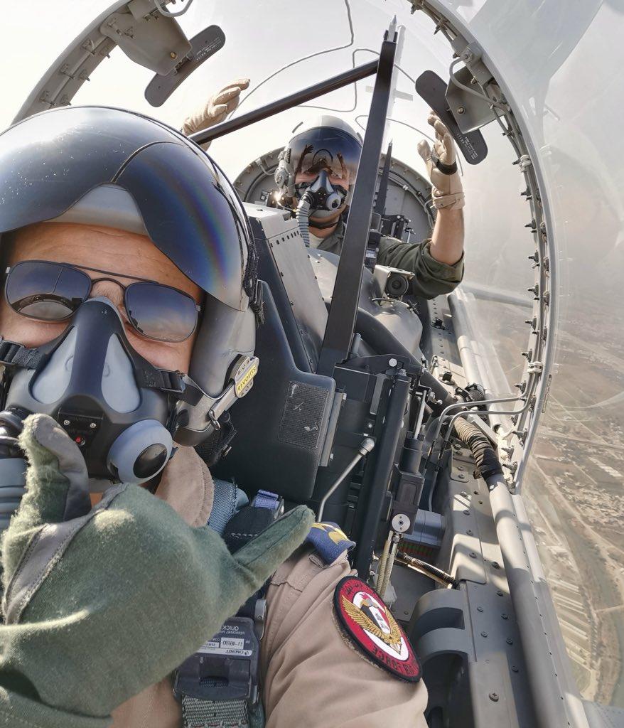 العراق يعيد تأهيل طائرة T-6 التدريبية واعادتها الى الخدمة بعد توقفها لمدة 4 سنوات Ekob2v10