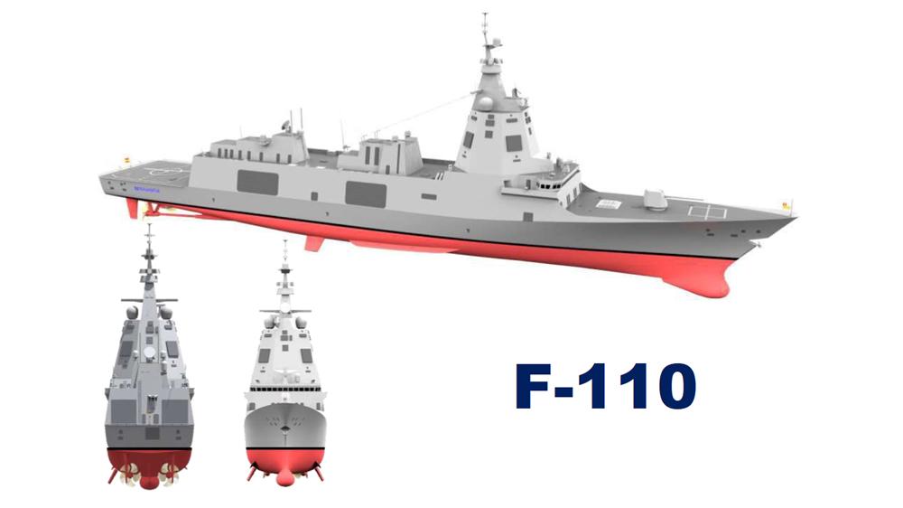 الفرقاطة فئة F110 المتعددة المهام Ekynci10