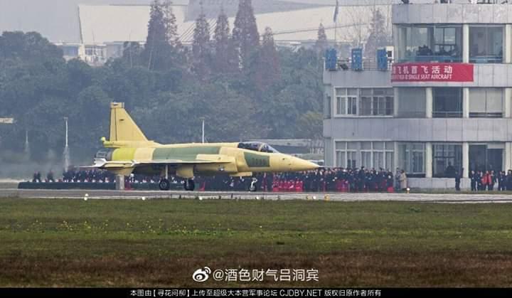 اول مقاتله باكستانيه نوع JF-17 Block 3 تقوم بأول تحليق لها في الصين  Em3vjm10